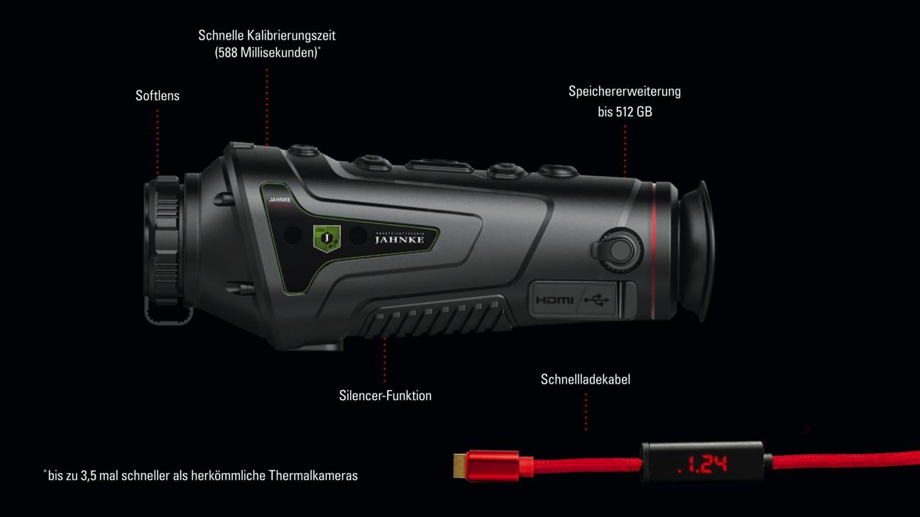 Jahnke hőkamera Thermal II